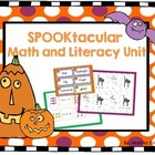Halloween SPOOKtacular Math and Literacy BUNDLE
