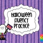 Halloween Silly Sentences {Fluency Practice}