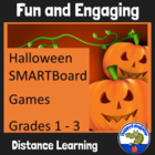 Halloween Smartboard Games - 4 Different Activities