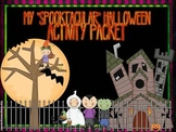 "Halloween ""Spooktacular""  Activity Fun Pack"