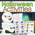 Halloween Spooky Math and Literacy Activities