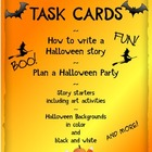 Halloween Task Cards and Writing Activities