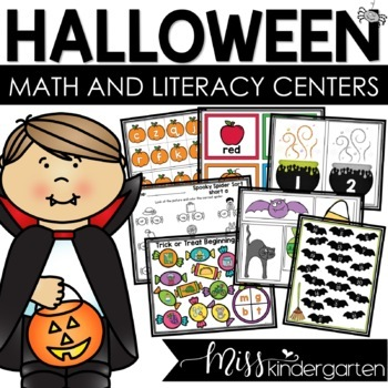 Halloween Themed Games and Centers