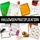 Halloween Themed Multiplication Activities
