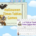 Halloween Times Tables Games x 3 - 3 pages