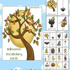 Halloween Vocabulary Cards with Record Sheet - 7 pages