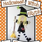 Halloween Witch Glyph
