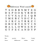 Halloween Word Find