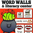 Halloween Word Wall Cards: Illustrated {includes 40 words}