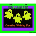 Halloween Writing Centers - Creative Writing Fun