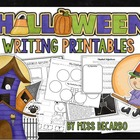 Halloween Writing Pack! {With Craftivity!}