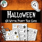 Halloween Writing Prompts / Journal Starters - 64 task cards!!