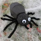 Halloween craft: Sophisticated Spider