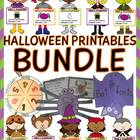 Halloween printables bundle