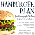 Hamburger Paragraph Planning Packet
