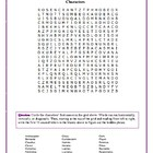 Hamlet: Character Word Search with Hidden Message