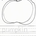 Hand-Drawn Pumpkin Printable Pack!