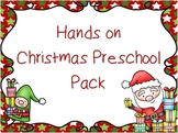 Hands on Christmas Preschool Pack