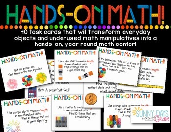 Hands on Math Center