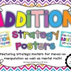 Hands-on and Mental Math Addition Strategies Posters