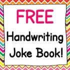 Free Handwriting Joke Book