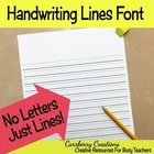 Handwriting Lines Font