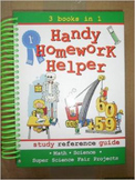 Handy Homework Helper - 3 Books in 1