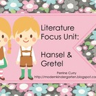 Hansel and Gretel Literature Focus Unit