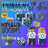 Hanukkah Doodles (BW and full-color PNG files)
