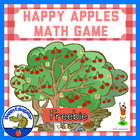 Happy Apples Math Board Game