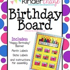 Happy Birthday Board