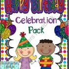 Happy Birthday Celebration Pack (Polka Dots)