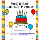 Happy Birthday Class Book Printables
