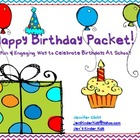 Happy Birthday Packet!