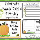 Happy Birthday, Roald Dahl! (September 13)