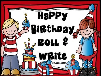 Happy Birthday Roll and Write