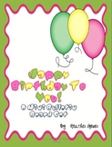 Happy Birthday To You! Mini Bulletin Board Set