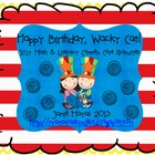 Happy Birthday, Wacky Cat! {Common Core Math & Literacy Ce
