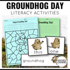 Happy Groundhog's Day Literacy Activities