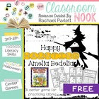 """Happy Haunting, Amelia Bedelia!"" Idiom Center Activity"