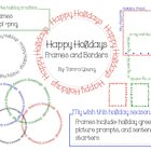 Happy Holidays Frames and Borders