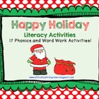 Happy Holidays Literacy Activities