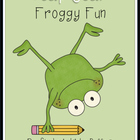 Happy Leap Year Froggy Fantasy/ Realism and Skip Counting