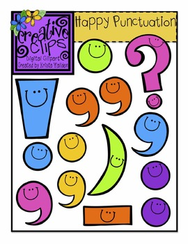Happy Punctuation {Creative Clips Digital Clipart}