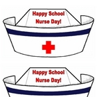 Happy School Nurse Day! nurse hat cards school nurse appreciation