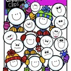 Happy Snowballs {Creative Clips Digital Clipart}