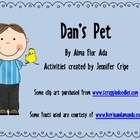 Harcourt Trophies ~ Dan's Pet story activities