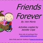 Harcourt Trophies ~ Friends Forever story activities