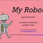 Harcourt Trophies~ My Robot story activities
