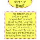 Hard C Soft C Activity Hunt
